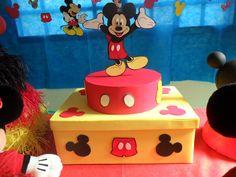Festa de 3 anos da minha filha - A Casa do Mickey Mouse