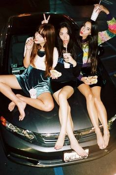 Image result for girls night out in a car