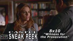 """Castle 8x10 Sneak Peek #1   """"Witness For The Prosecution""""  Season  8 Episode 10..."""
