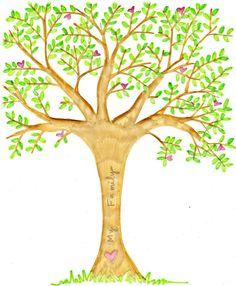 The Red Headed HostessHer Nursery... Part 1... Her Family Tree... - The Red Headed Hostess