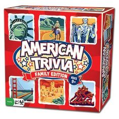 Trivia Game  American Trivia Family Edition  the America Themed Family Board Game *** More info could be found at the image url.