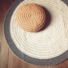 1000 images about tapis on pinterest round rugs Tapis rond tresse