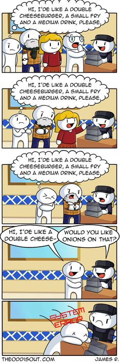 Funny & Hilarious Comics With Unexpected Endings By - ScreenHumor Theodd1sout Comics, Cute Comics, Funny Comics, Really Funny, Funny Cute, The Funny, Hilarious, Stupid Funny Memes, Funny Posts