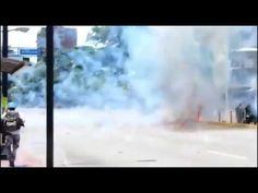 O Antagonista - O momento da explosão do comboio policial