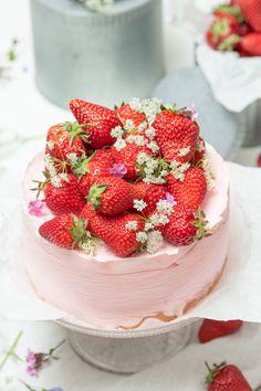 semifreddo strawberry cheesecake