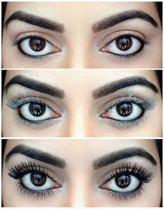 How To Beauty : Using Baby Powder to Get Long lashes #long_lashes