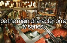 Be the main character on a tv series