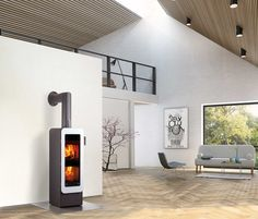 Stoves | Fireplaces-Stoves | BIONIC FIRE | Attika Feuer. Check it out on Architonic