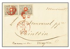 Rapp Auction 2010 / Lot from the Classic Switzerland Collection «Ticino» / Geneva, Vaud 4 Cent / Sold for 342'000 Swiss Francs