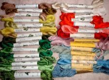 Kreinik Pure Silk Yarn Thread Floss for Embroidery, Crewel, or Needlepoint ~ MC