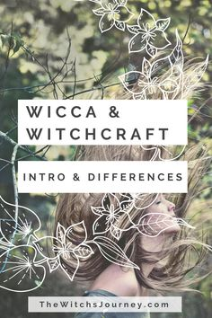 Wicca and Witchcraft. Sometimes they're interchangeable. Sometimes they're completely separate. It simply depends on the person. Read more —>