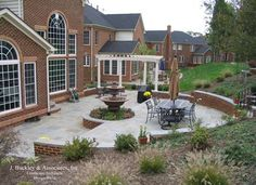 patio designs among retaining walls furnished with grinder ... - Retaining Wall Patio Design