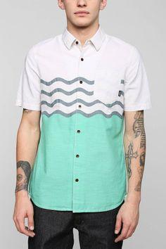 Vans Wave Stripe Button-Down Shirt