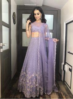 Indian Lehenga, Half Saree Lehenga, Lehnga Dress, Indian Gowns, Indian Attire, Indian Ethnic Wear, Pakistani, Indian Wedding Outfits, Bridal Outfits
