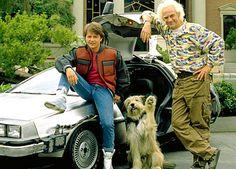 Todo garoto daquela época queria ser o Marty McFly! :D