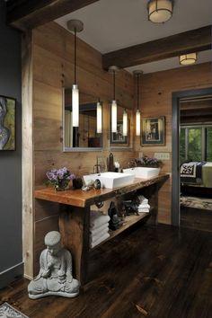 Zen bathroom Design - Asian bathroom design 45 Inspirational ideas to soak up. Luxury Living Room, Home Decor Bedroom, Zen Bathroom, Asian Bathroom, Luxury Kitchens, Interior Design Kitchen, House Interior, Zen Decor, Asian Home Decor