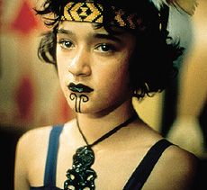 "Keisha Castle-Hughes, New Zealand actor in lead role of ""Whale Rider"" (2002) portraying a young Maori girl who is imbued with the spirit of the legendary Paikea, and fights to fulfil her destiny www.imdb.com/title/tt0298228/"