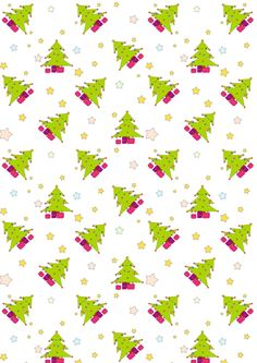 Free digital Christmas scrapbooking paper kawaii - ausdruckberes Weihnachtspapier - freebie | MeinLilaPark – DIY printables and downloads