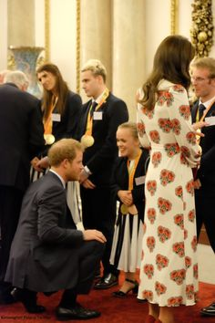 The Duke and Duchess of Cambridge and Prince Harry attended a reception hosted by the Queen and Prince Philip for Team GB and Paralympics GB...