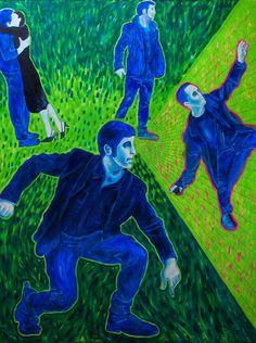 Obraz 3 - 200 x 150 cm; olej, płótno; 2015