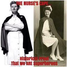Historical proof nurses ARE superheroes :)