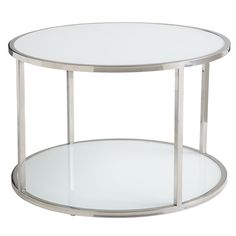 In an attempt to not buy everything from Ikea, I found this coffee table which is very similar to their Strind table.  Unfortunately, it is about eight times more expensive.