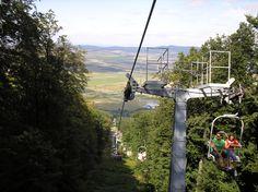 Zempléni libegő/ Telpher in Zemplén (Sárospatak, Borsod-Abaúj-Zemplén, Northern Hungary) Utility Pole