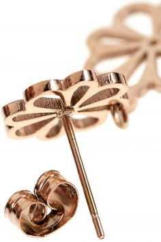 FLOWER Ohrringe rosé vergoldet Jewelry, Neck Chain, Gemstone Earrings, Armband, Jewlery, Jewels, Jewerly, Jewelery, Accessories