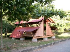 Temporary shelter design in Indonesia