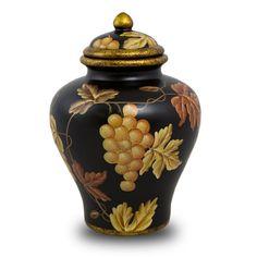 NEW! Vineyard Calm Ceramic Cremation Urn