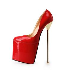 Cheap wedding pumps, Buy Quality high heels shoes woman directly from China metal heel stiletto Suppliers: Zapatos Mujer Metal Heel Stiletto Platform High Heels Shoes Woman Autumn Wedding Pumps Plus Size drop shipping Platform High Heels, High Heel Pumps, Pump Shoes, Shoe Boots, Shoes Heels, Women's Pumps, Ankle Boots, Wedding Pumps, Super High Heels