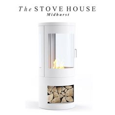 Howarth White Bioethanol Stove: Real flames no chimney / flue required Woodburning Fire Effect & Flueless perfect for blocked fireplaces Shepherds Huts Conservatories. Pembrey Stow Malvern Bredon and more available from The Stove House 01730 810931 Cabin Fireplace, Bioethanol Fireplace, Stove Fireplace, Fireplace Remodel, Biofuel Fireplace, Modern Fireplace, Wood Stove Modern, Modern Stoves, Inset Electric Fires