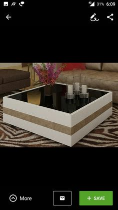 Coffee Table Centre Table Living Room, Dining Room Table Decor, Center Table, Table Furniture, Cool Coffee Tables, Coffe Table, Modern Coffee Tables, Centre Table Design, Tea Table Design