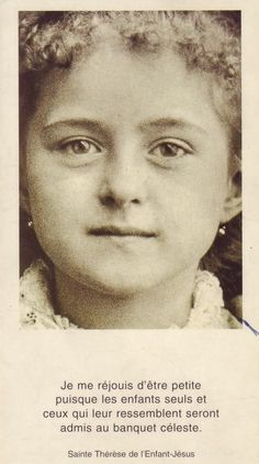 st therese | St Therese of Lisieux aka The Little Flower :: St Therese of Lisieux ...