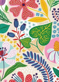 Helen Dardik: summer gardens . . . Beautiful work.