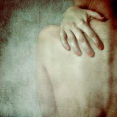 They Will Never Know Conceptual Photograph. Original Fine Art Photography. sensual, female, contemporary, girl portrait, hand, dark art