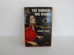 The Darker the Night by Herbert Brean a 1950 by LookatthisHoney, $3.00