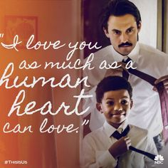 Jack to his son Randall This is Us.