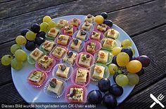 Käsepralinen - Butterkäse mit Brie und Nüssen