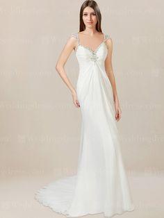 Destination wedding dress is an informal style.