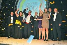 Natural Welsh Water win Business of the Year award 2012! The clean, fresh taste of success!
