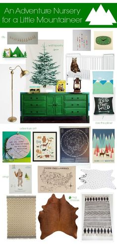 "Green dresser?!  Thinking of a ""adventure"" themed playroom"