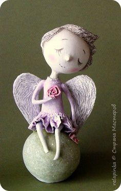Куклы Папье-маше Много всего Бумага фото 9