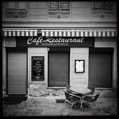"""""""Closed #coffee place in #Vienna. Who wants coffee?"""" Photo taken by @actuallymt on Instagram, pinned via the InstaPin iOS App! http://www.instapinapp.com (01/14/2015)"""