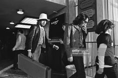 Nov 25,1976 Bob Dylan arrives for sound check at the 'The Last Waltz' concert at Winterland Ballroom in San Francisco