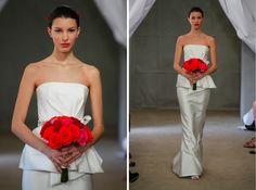 Bridal Fashion Week NY 2013 – Tendências em vestidos de noiva