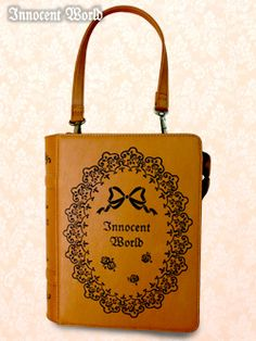 IW-Rose Lace Book Pochette (caramelxchocolate)