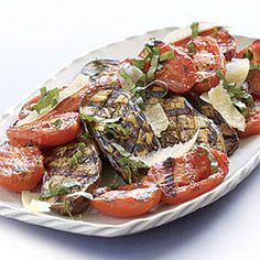 Grilled Baby Eggplant