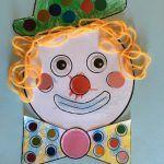 Clown+de+Carnaval Mardi Gras, Carnival, Crafts For Kids, Children, Ideas, Pancake Day, Kid Crafts, Kids, Crafts For Children