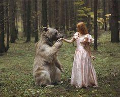 Fotógrafa russa cria imagens que parecem saídas de contos de fadas